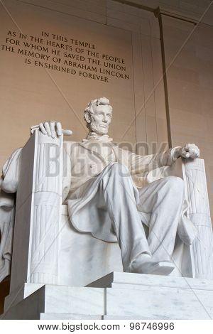 Lincoln statue memorial