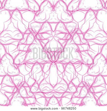 Seamless  swirl pattern. Modern texture.  illustration