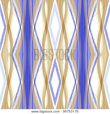Seamless Abstract Pattern Ornament Geometric Background