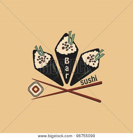 Vector Sushi logo