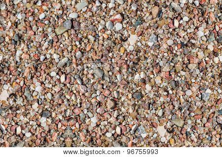 Pebble Stones. Seamless Texture.