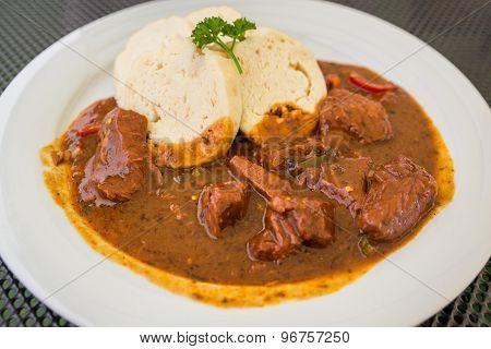 Goulash On A Plate