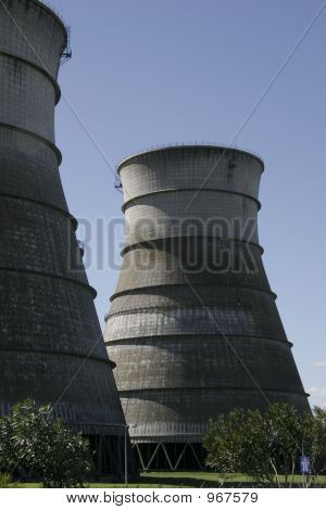 Power Station Cooling Towers B