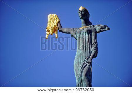 Medea Statue In Batumi