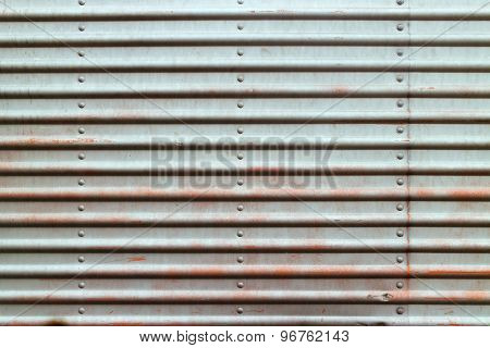 Rustic metal plate