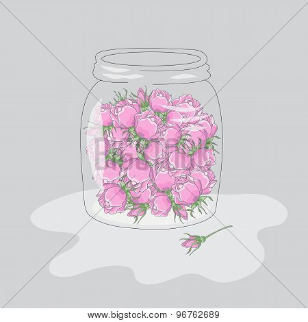 Roses In The Jar