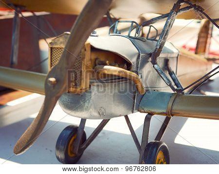 Antique Plane at Flea Market