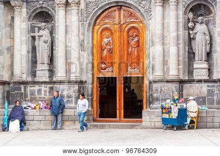Otavalo, Ecuador Church Activity