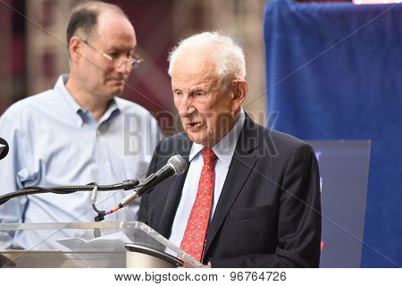 Former Manhattan DA Robert Morgenthau