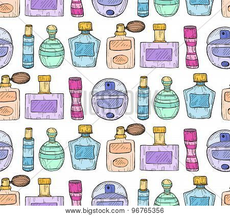 Pattern With Perfumes