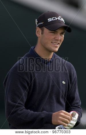 ST ANDREWS, SCOTLAND. July 17 2010: Martin KAYMER from Germany in action during the third round of The Open Championship   played on The Royal and Ancient Old Course