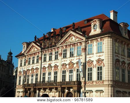 Prague, Czech Republic - April 22, 2015: Narodni Galerie
