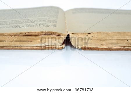 Vintage Book Open