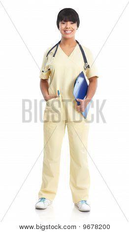 Medizinische Krankenschwester