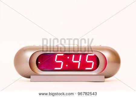 Digital Watch 5:45