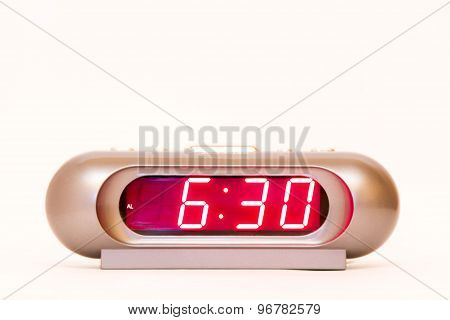 Digital Watch 6:30