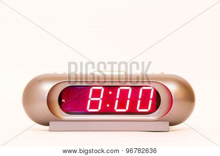 Digital Watch 8:00