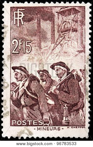 Miners Stamp