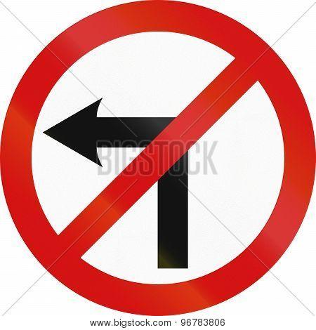No Left Turn In Ireland