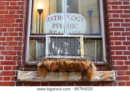 The Window Of Astrologer's Apartment