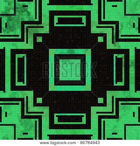Tiles Mosaic Generated Seamless Texture