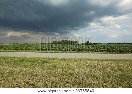 Dark Clouds In Mecklenburg-vorpommern
