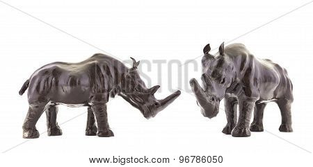 Rhinoceros rhino sculpture