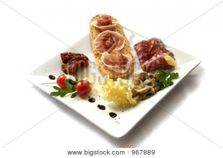 Plate Of Antipasti