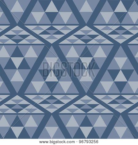 Triangle ethnic pattern