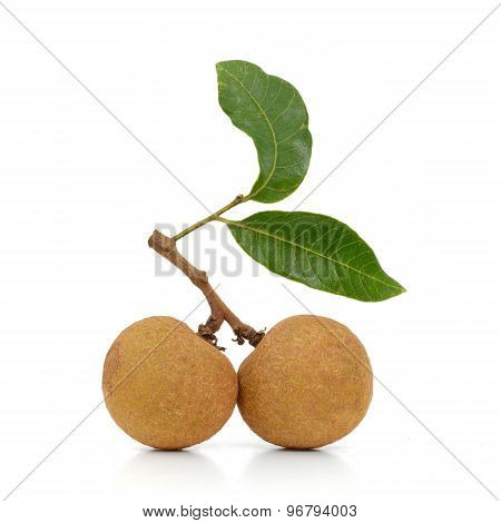 Fresh Longan Isolate On The Background (fruit)