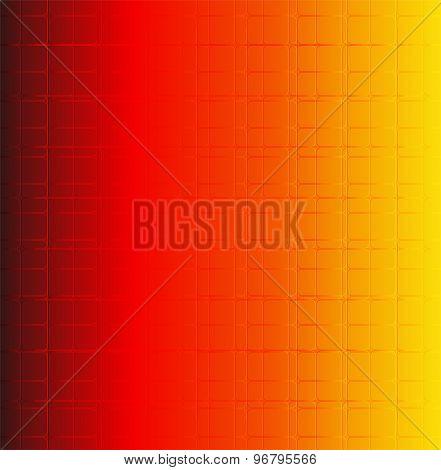 Grid orange bacground vector vector design template abstract