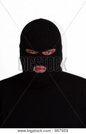 Ladrón enojado