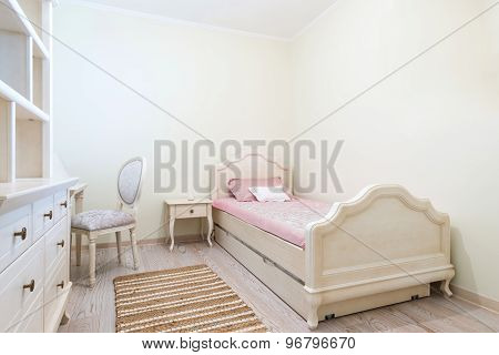 Baby Girl Kids Bedroom Interior