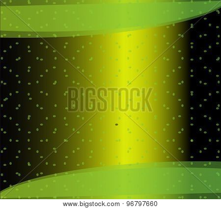 Hi-tech green background design template elements