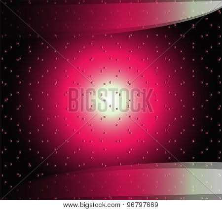 Hi-tech red black background design template elements