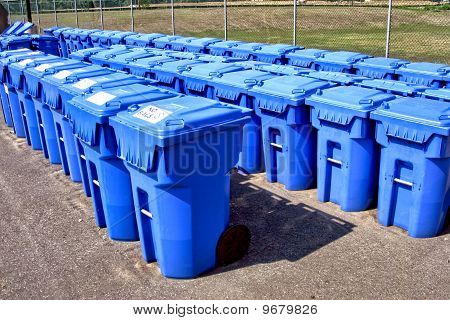 Municipal Recycling Containers