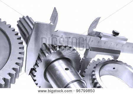 Measurement Of Diameter Of A Gear