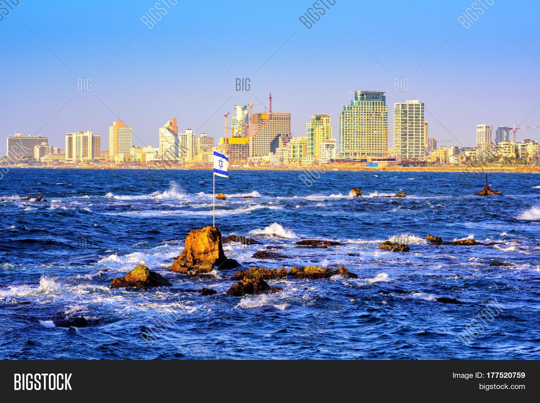 skyline of tel aviv city israel stock photo u0026 stock images bigstock