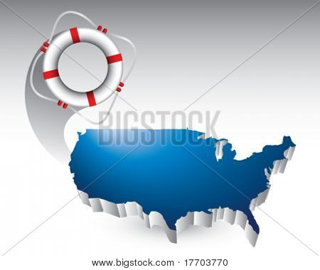 lie ring featured with the united states