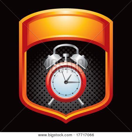 alarm clock orange display