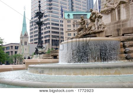 Denkmal-Wasserfall