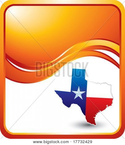 lonestar state orange wave backdrop