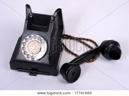 An Old 1950s Telephone