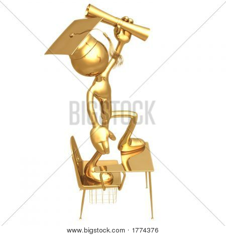 Little Golden Student Graduation