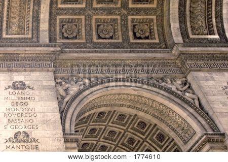 Arc De Triomphe  Ceiling Details