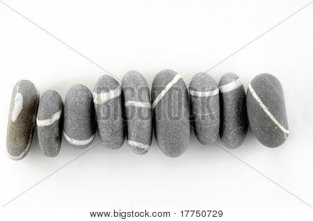ein Stapel der Steine, unsymmetrisch