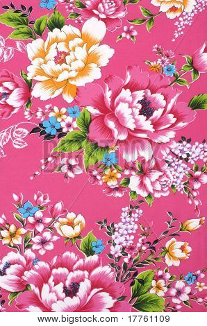 Traditional Chinese fabric sample