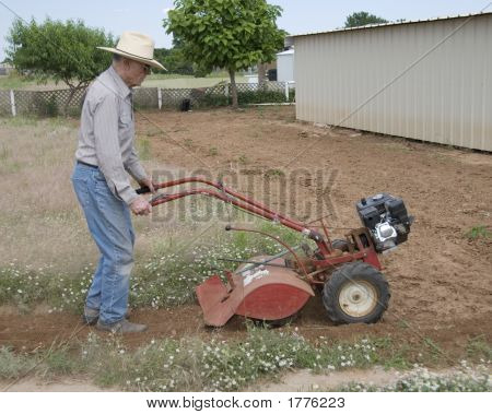 Old Man Plowing