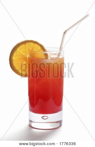 The Tequila Sunrise -  Beautiful Cocktail!