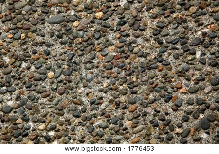 Pebbled Pavement